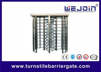 China Subway , Metro Turnstile Entry Systems / Stainless Steel Controlled Access Turnstiles factory