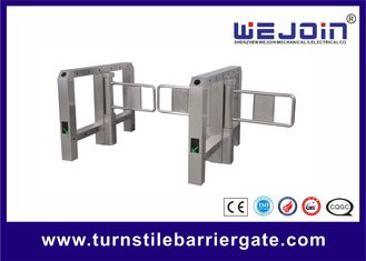 China Access Control Speed Lane Supermarket Swing Barrier Gate for Pedestrian factory