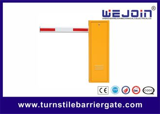 Steel Economic Parking Barrier Gate , Manual Release Security Entrance Gate