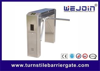 Security Swipe Turnstile Barrier Gate RFID Cards Access Control Automatic 50/60HZ