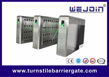 Access Control Flap Barrier Gate Electronic Turnstile High Speed For School Stadium