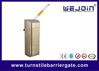Manual Release 0.6s Traffic Barrier Gate For Effective Toll Processing Parking System