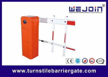 China Automated Electronic Car Park Barrier Gate Arm With Die Casting Aluminum Alloy Motor factory