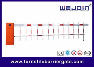 Outdoor Road Customized CE Parking Lot Barrier Gate With Aluminum Alloy Core