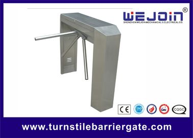 Double Direction Tripod Turnstile Gate , Access Control Barriers And Gates