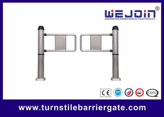 China Professional Access Control Entrance Swing Barrier Gate With 500~900mm Arm Length factory