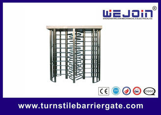 China security gates, double routeway  stainless turnstile gates , full height turnstile ,  office building gate   manufacture factory