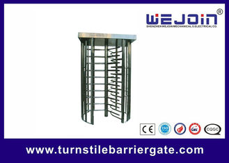 80W Security Entrance Gate Full Height Turnstile pedestrian barrier