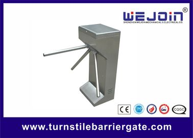 Semi Automatic Vertical Tripod Turnstile , Tripod Barriers For Access Control
