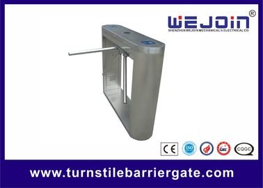 Indoor / Outdoor Tripod Turnstile Gate Automatic Security Smart Subway Application