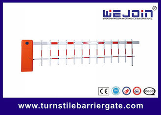 China Traffic Intelligent Barrier Gate 30m Remote Control Distance With 1-6 Meters Boom factory