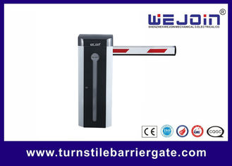 Electric Car Auto Barrier Gate System , Traffic Barrier Gate 3/6 Second Speed