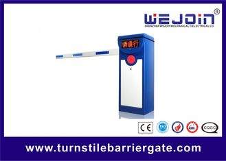 Automatic Vehicle Barrier Gate Parking System 2 Fence Boom Type 6s Speed