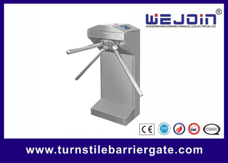 Half Height Access Control Turnstile Gate Outdoor 304 Stainless Steel Cabinet