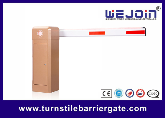 China 6m Arm Barrier Gate Car Parking Barrier Boom Security Gate 1-2s/3-5s Speed Adjustable factory