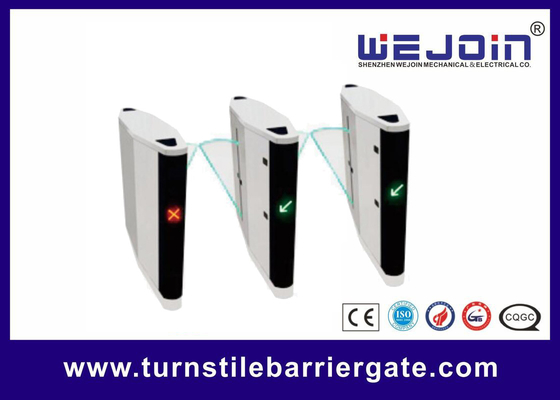 Metro Station Flap Barrier Gate Automatic Single / Double Core 12 Months Warranty