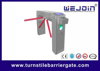 China Outdoor Pedestrian Security Tripod Turnstile Gate Systems With Card Reader factory