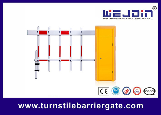 China 2 Fences Parking Entrance Barrier , Vehicle Barrier Gates For Parking Security System factory