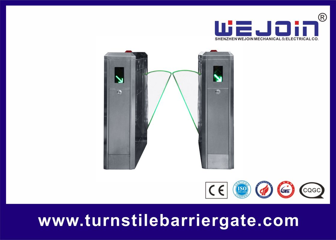 304 Stainless Steel Flap Barrier Gate Turnstile Stick Access Control System supplier