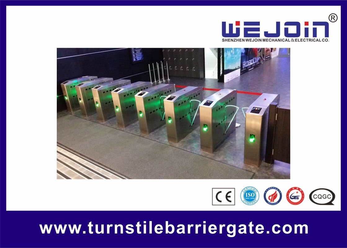 DC 24V Subway Metro Speed Gate Controlled Access Turnstiles supplier