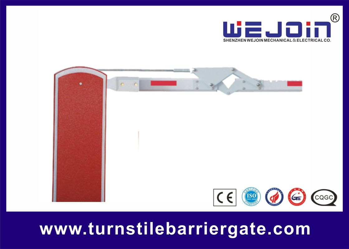 Parking Lot Arm Gate Automatic Traffic Arm Barriers With Galvanized Steel Housing supplier