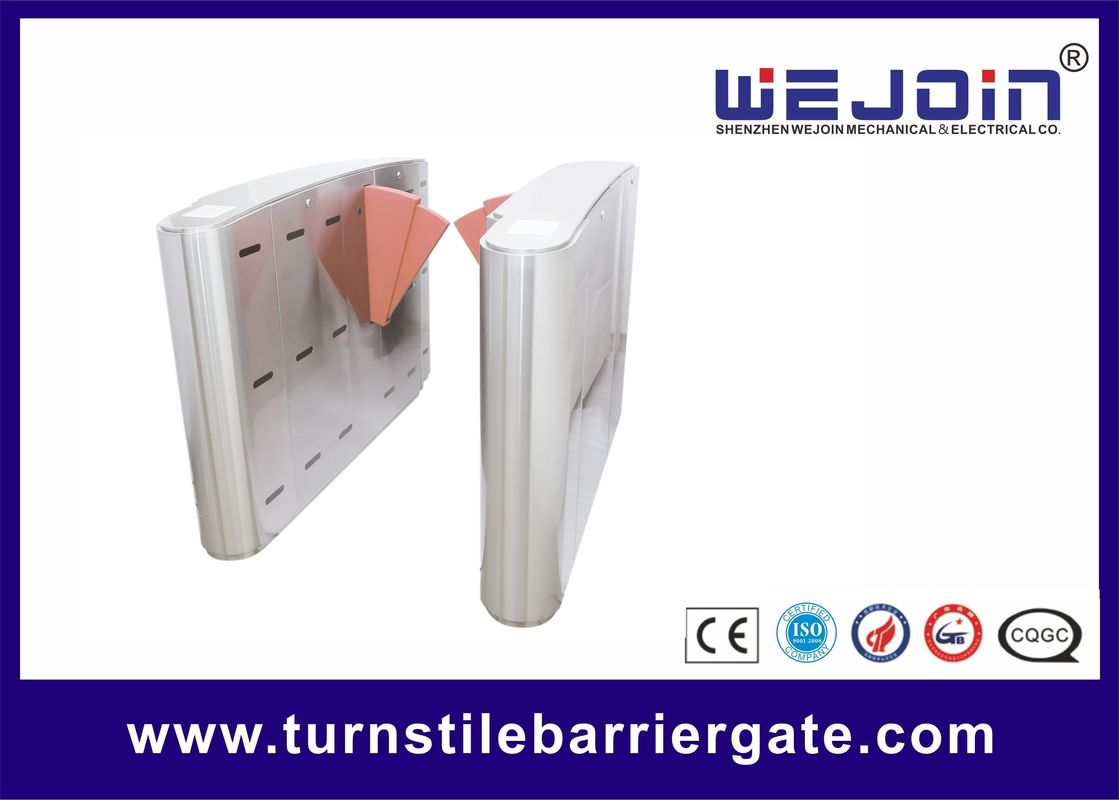 Stainless Steel Flap Barrier Gate supplier