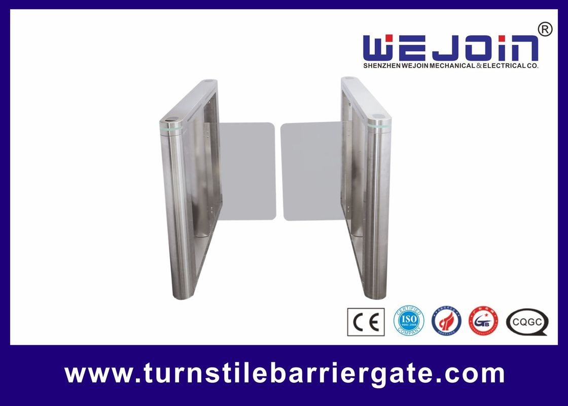 Automatic Glass Lane Pedestrian Swing Gate for High - Level