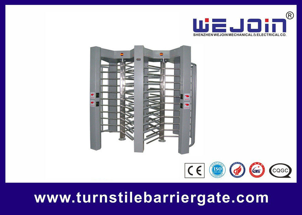double routeway  stainless turnstile gates , full height turnstile ,  office building gate security gates , manufacture supplier