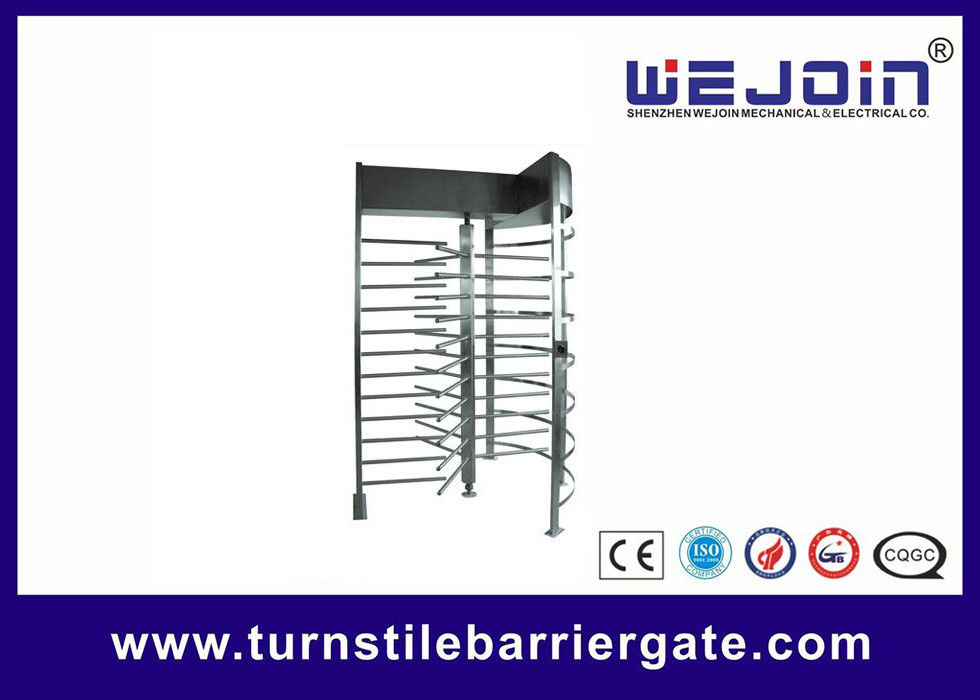 Stainless Steel Manual Full Height Turnstile Speed Gate Systems for Highway toll supplier