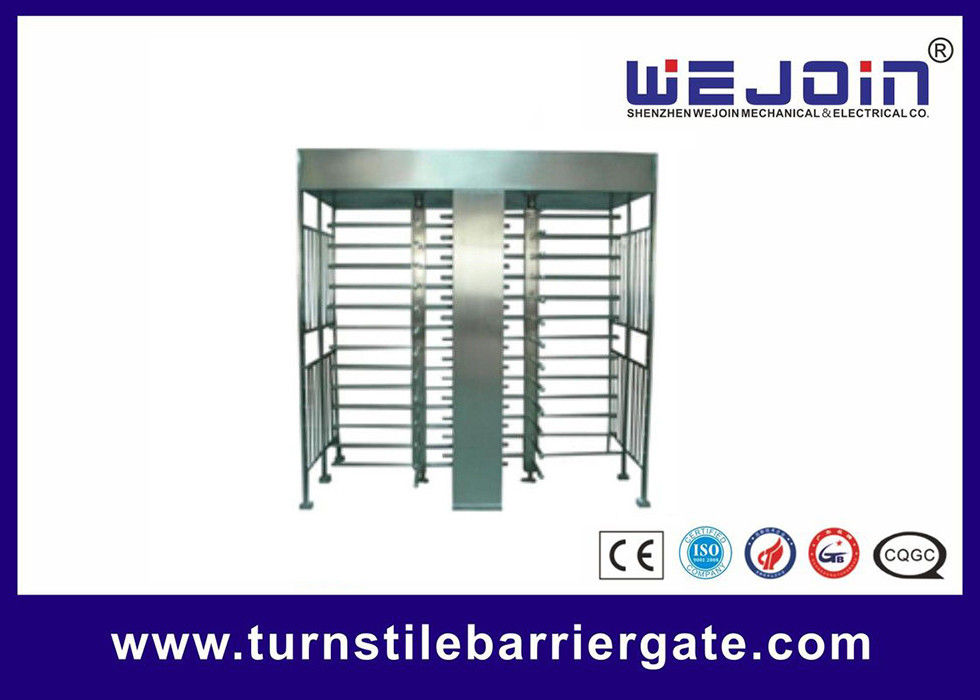 IC , ID , magcard , bar code Full Height Turnstile security systems supplier
