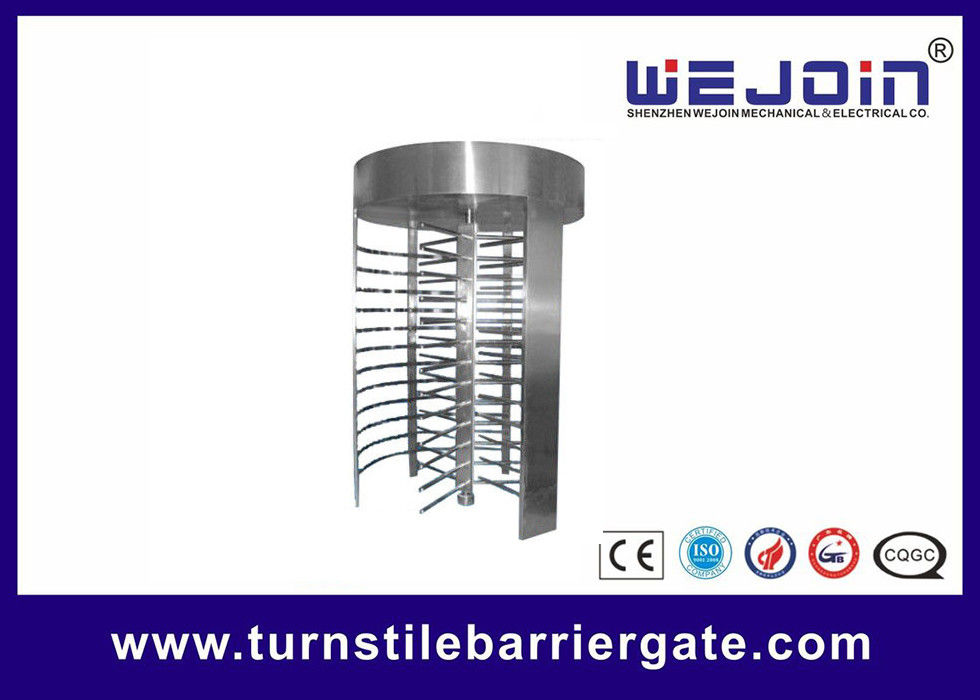 High Speed Full Height Access Control Turnstile Gate With Emergency - scape supplier
