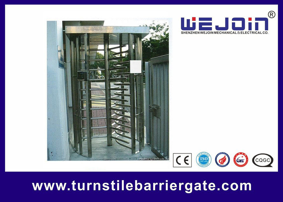 304 / 201 Stainless Steel Smart Card Access Control Turnstile Gate supplier