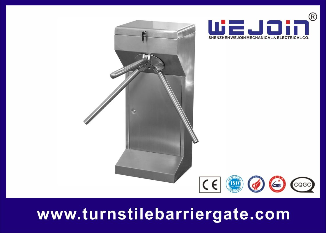 304 Stainless Steel Entry Turnstile Access Control Security Systems Automatic supplier
