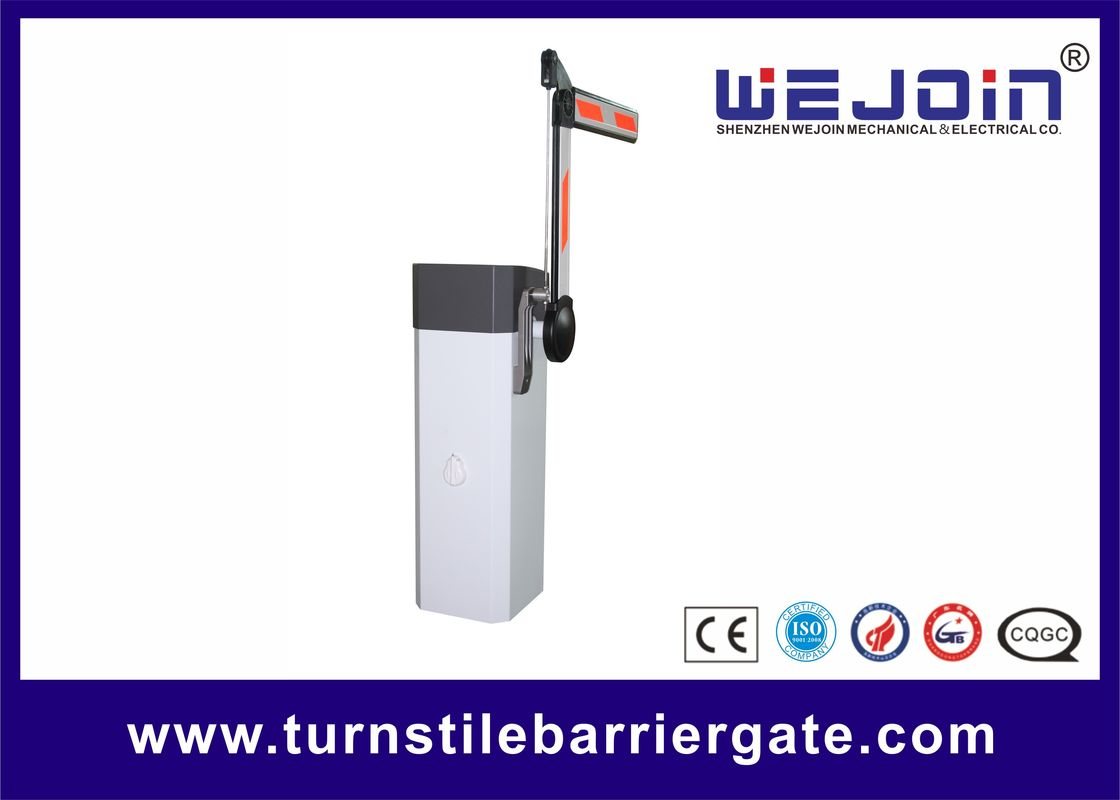 50/60hz Access Control Barriers , Toll System Automatic Parking Barrier Gate supplier