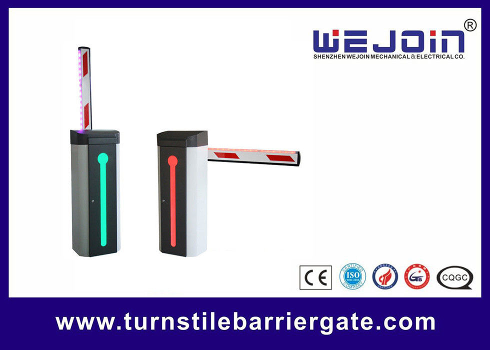 Road Safety Boom Barrier Gate Access Controller Durable With Loop Detector supplier