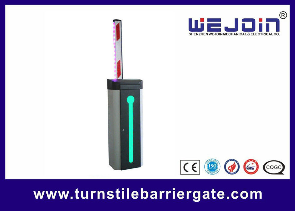 Electronic Automatic Boom Barrier Gate 2mm Zinc Plated Steel Cabinet 1 Year Warranty supplier