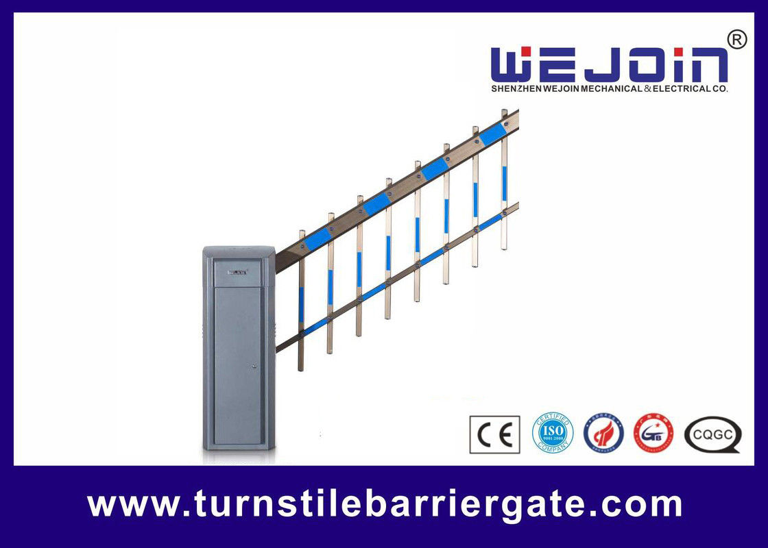 Intelligent Vehicle Barrier Gate DC Permanent Magnet Synchronous Motor With Two Fencing Boom supplier