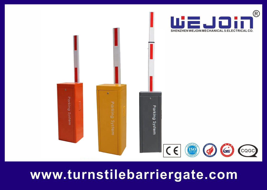 Automatic Electronic Barrier Gates Parking Systems Plastic Road Safety Barriers supplier