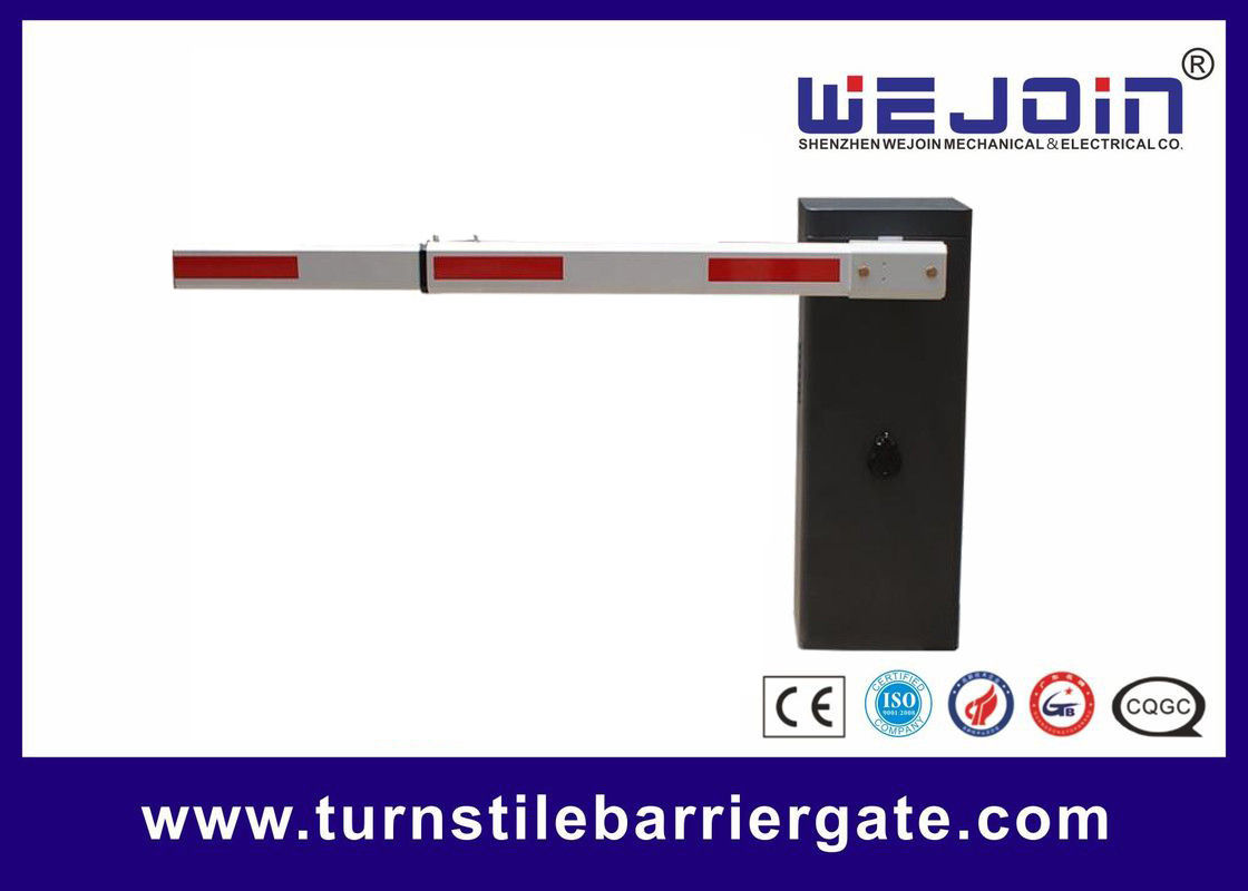 Remote Control Electronic Barrier Gates Aluminum Alloy Motor Parking Space Application supplier