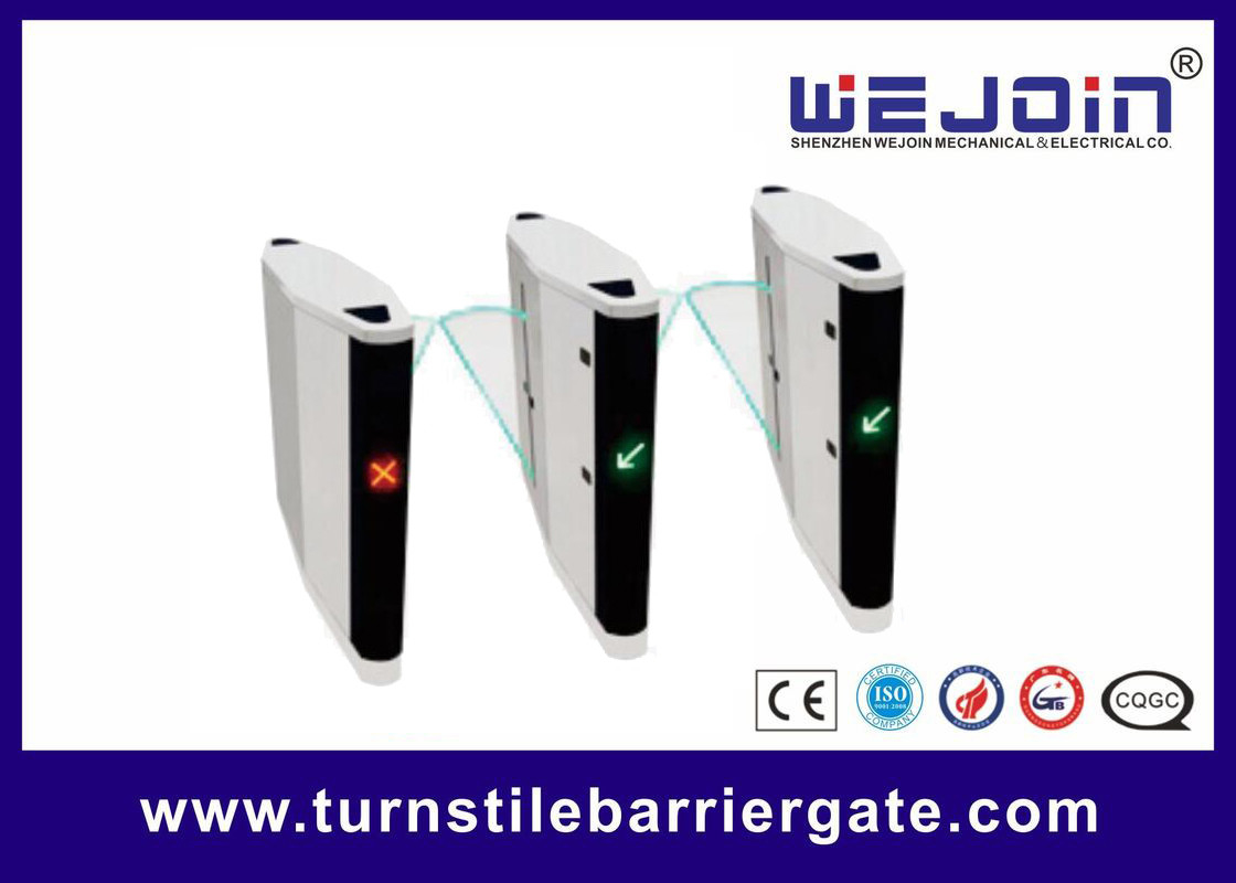 Metro Station Flap Barrier Gate Automatic Single / Double Core 12 Months Warranty supplier