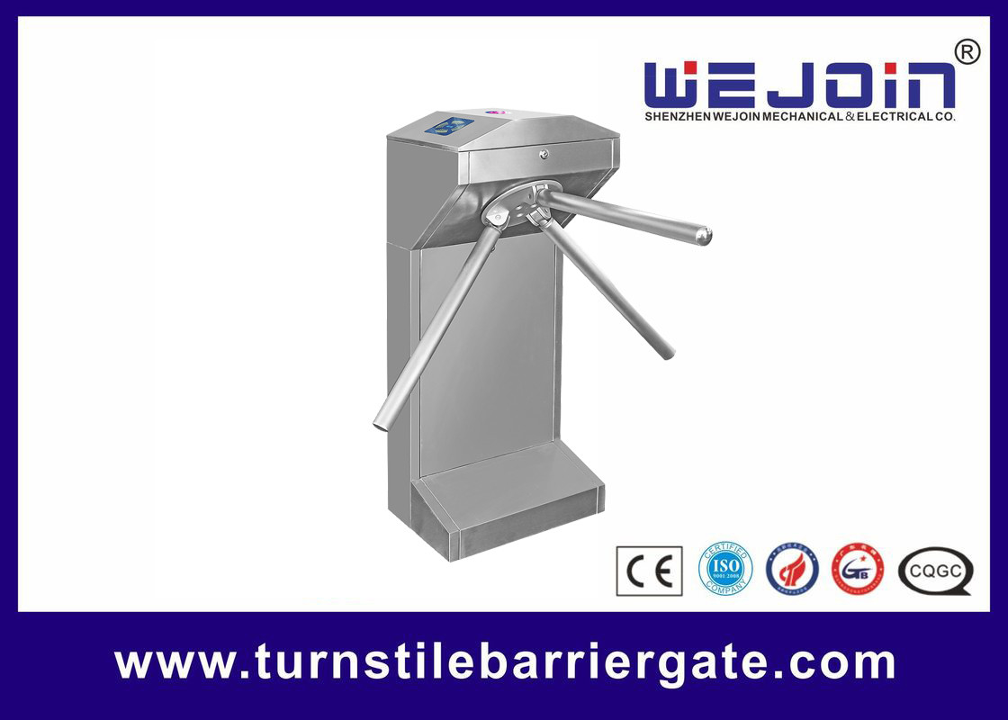 RS232 Communication Turnstile Barrier Gate Access Control Entrance 1 Year Warranty