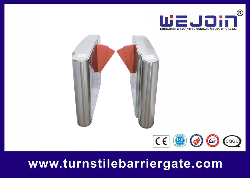 Pedestrian Across High Speed Flap Barrier Gate With Comprehensive Functions supplier