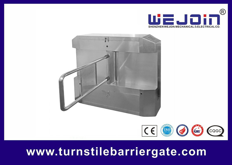Steel Security Entrance Swing Arm Barriers Systems For Streetcar Station supplier