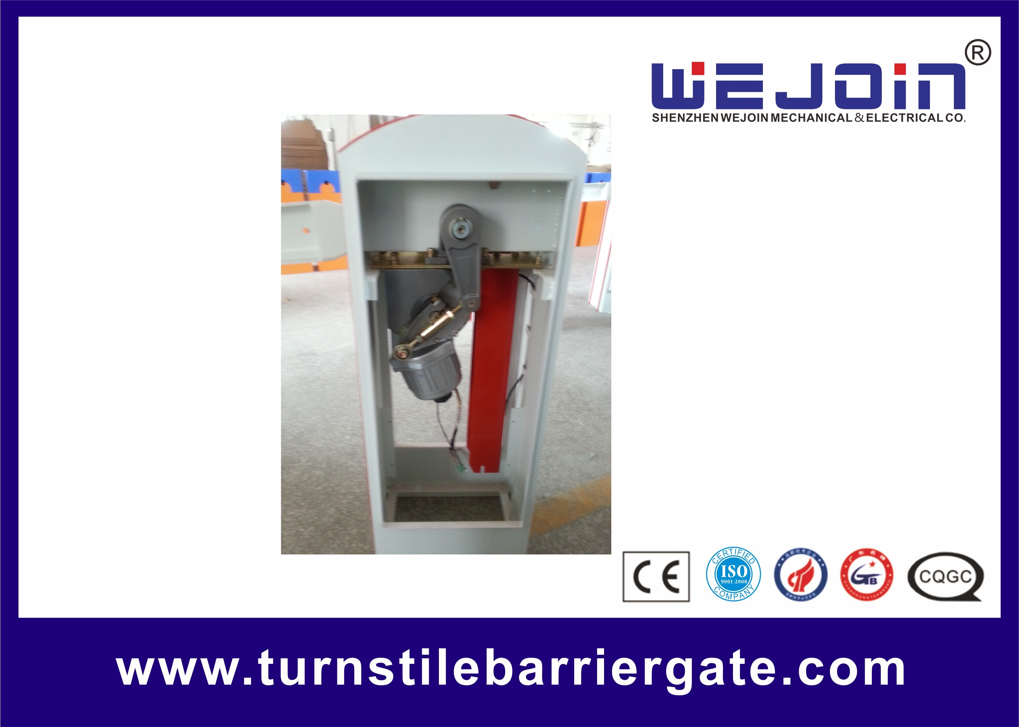 Stainless Steel parking lot arm gate boom barrier gate for traffic