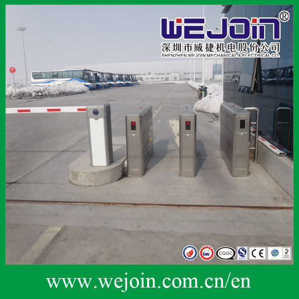 DC 24V Subway Metro Speed Gate Controlled Access Turnstiles