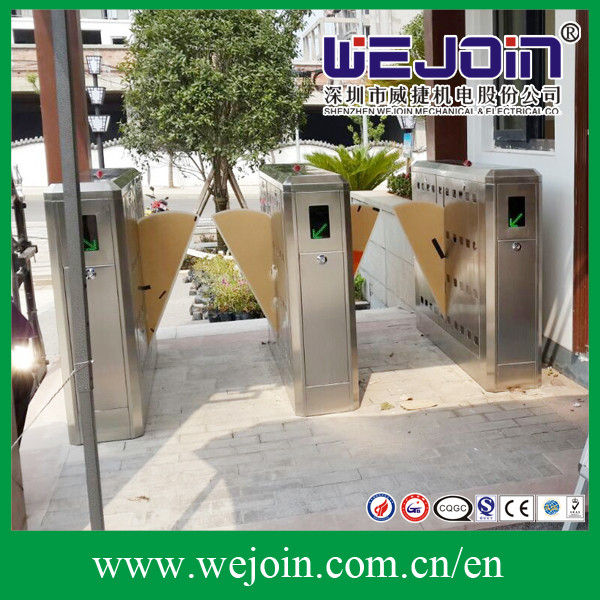 304 Stainless Steel Flap Barrier Gate Turnstile Stick Access Control System