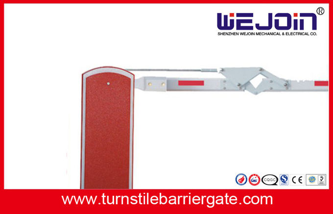 1.4s High Speed Boom Gate Access Control , Security Boom Barrier For Parking Vehicle